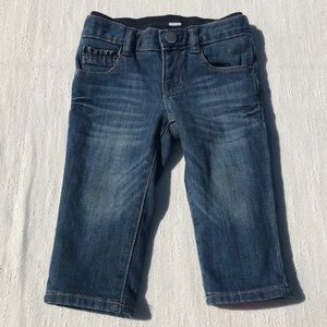 Baby GAP 1969 Lined Straight Legged Jeans 6-12 M